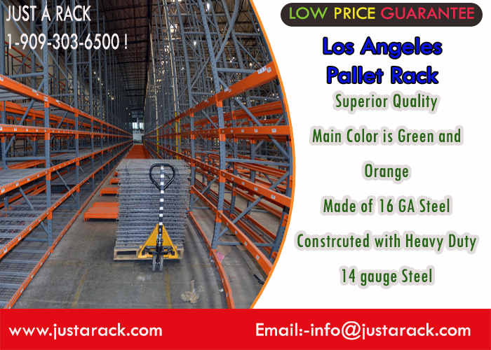 Just A Rack specializes in offering quality Los Angeles Pallet Rack