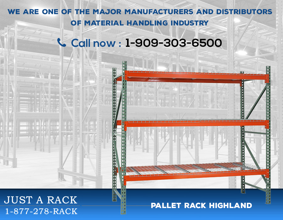 Choosing the right racking system in Highland is highly important for your business
