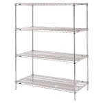Stationery Chrome Wire Shelving