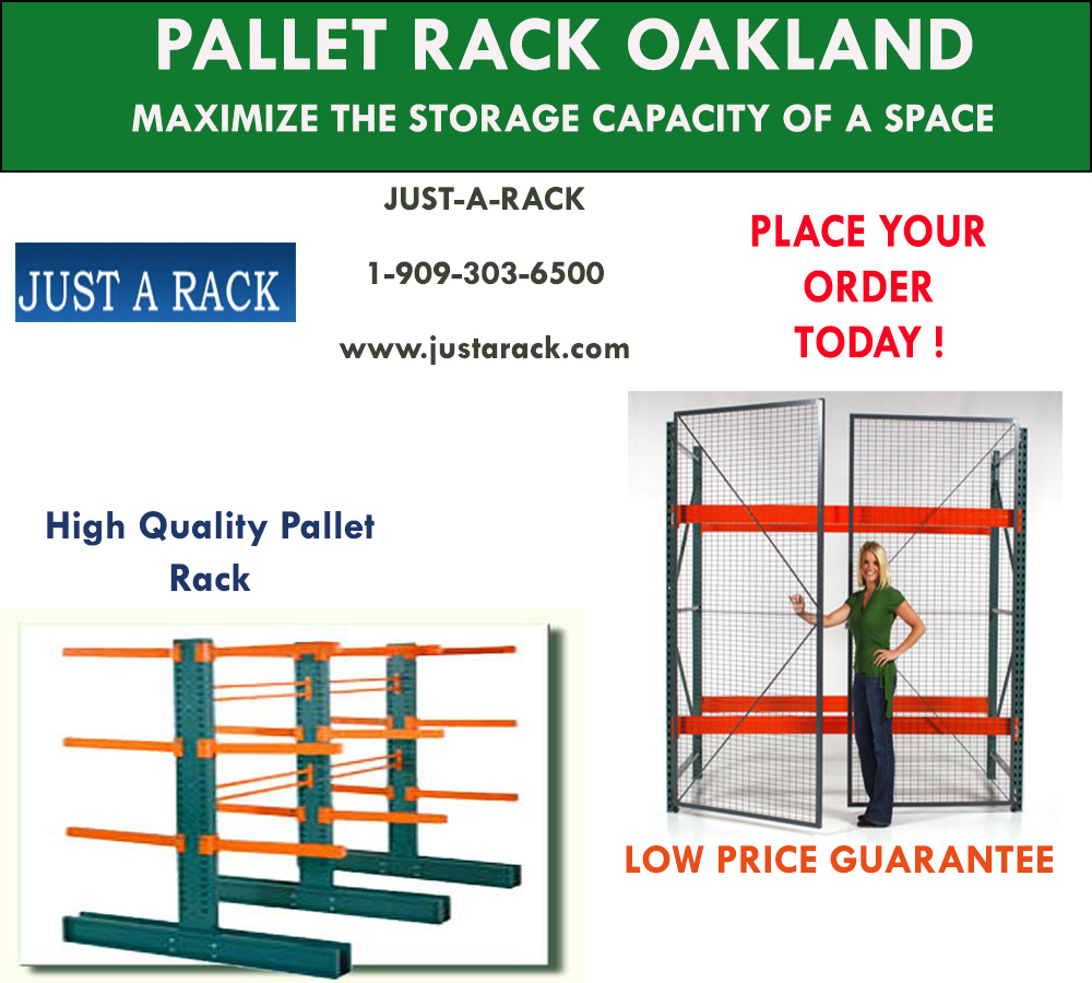 High-quality pallet rack in Oakland