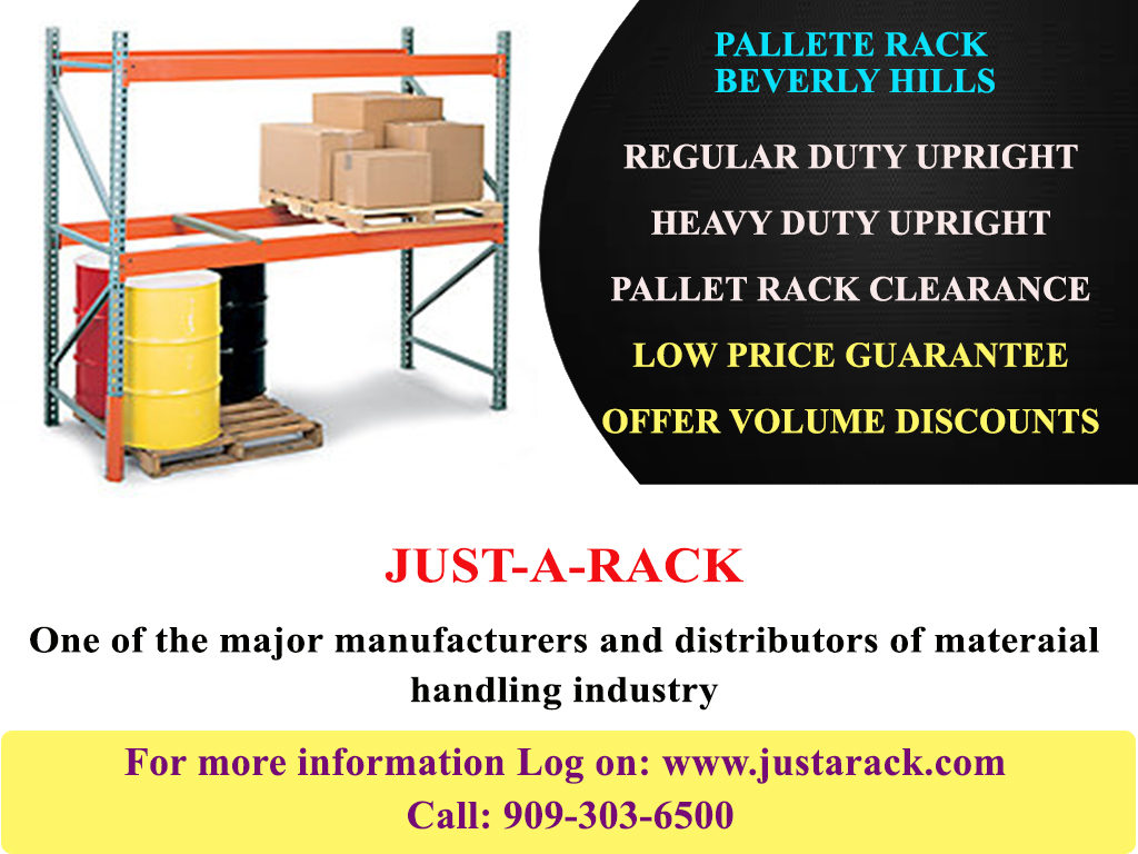 High quality pallet rack in Beverly hills